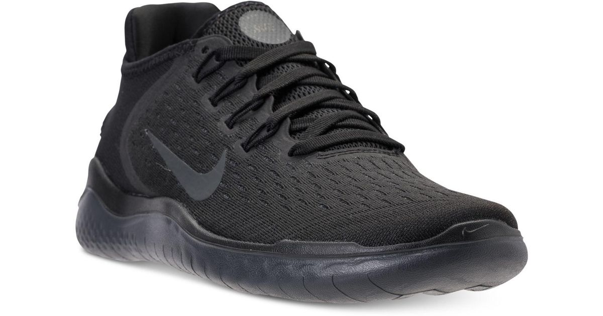 a79324950e0a Lyst - Nike Free Run 2018 Running Sneakers From Finish Line in Black