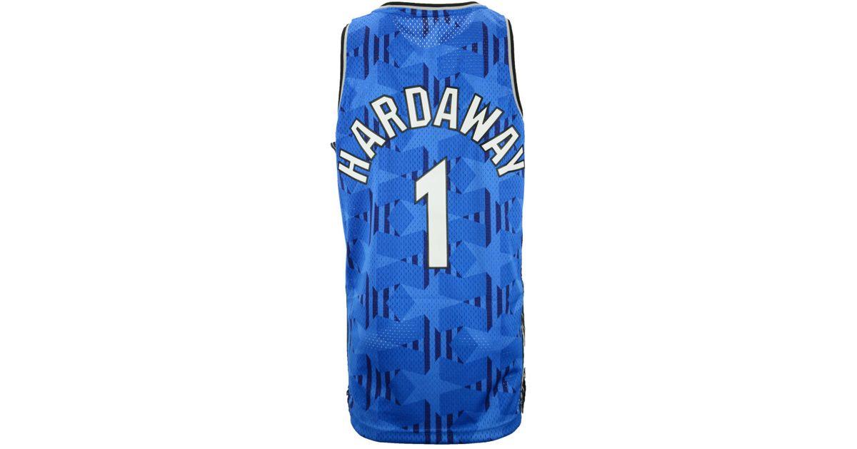 bef81685e06 adidas Men s Penny Hardaway Orlando Magic Swingman Jersey in Blue for Men -  Lyst