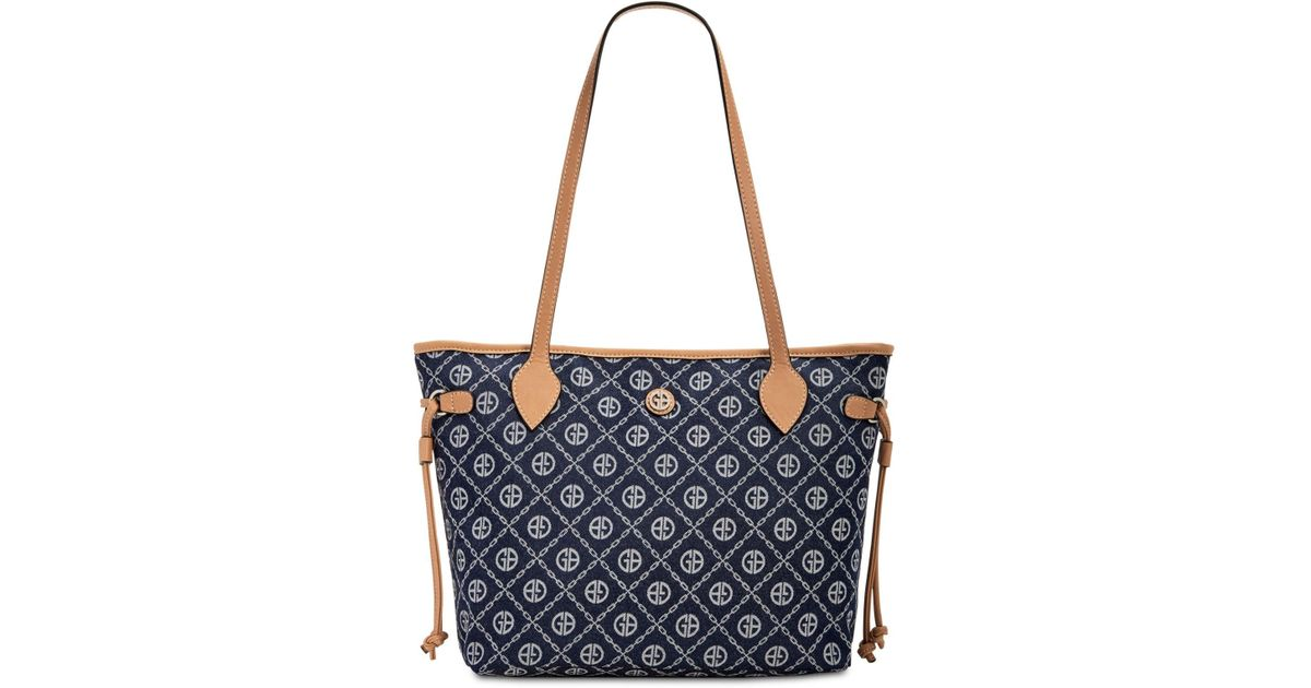 01057e69a172b Lyst - Giani Bernini Denim Signature Tote