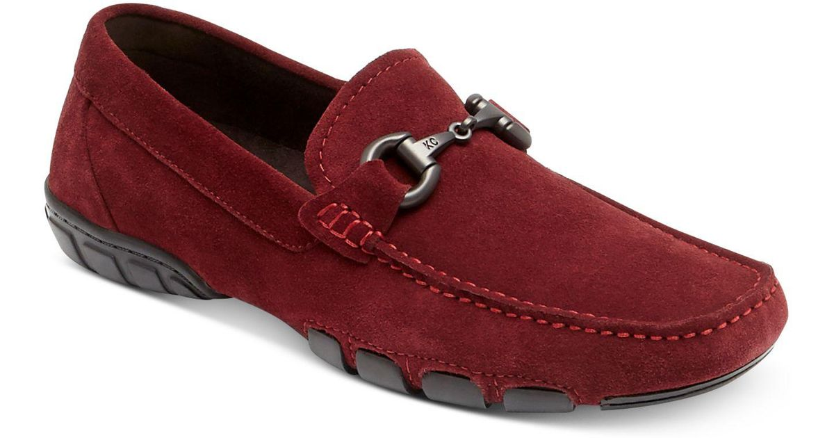 KENNETH COLE Design 10553 Suede Water & Stain Resistant Bit Loafer dxI1gwD8D