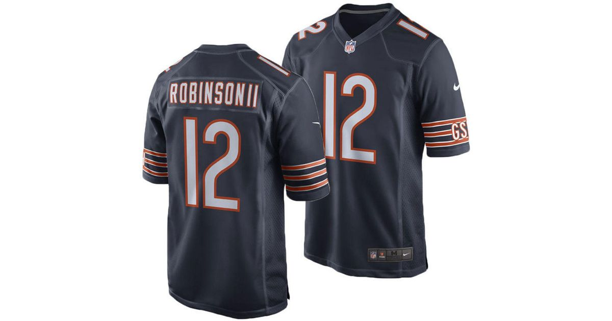 watch b46a9 22b4b Nike - Blue Allen Robinson Chicago Bears Game Jersey for Men - Lyst