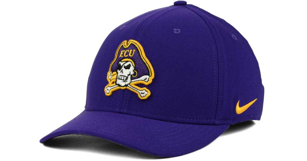 new style a5d17 2d565 ... promo code for lyst nike east carolina pirates classic swoosh cap in  blue for men 97625