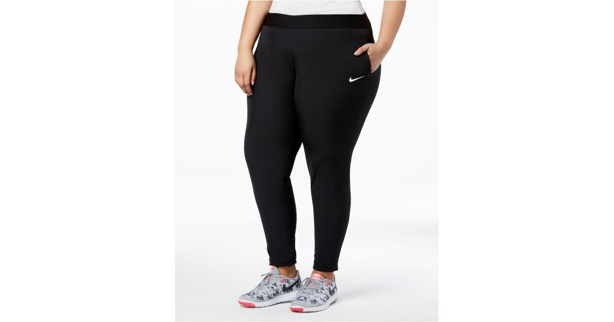 ad2a1128b26 Lyst - Nike Plus Size Flex Bliss Training Pants in Black - Save  26.15384615384616%