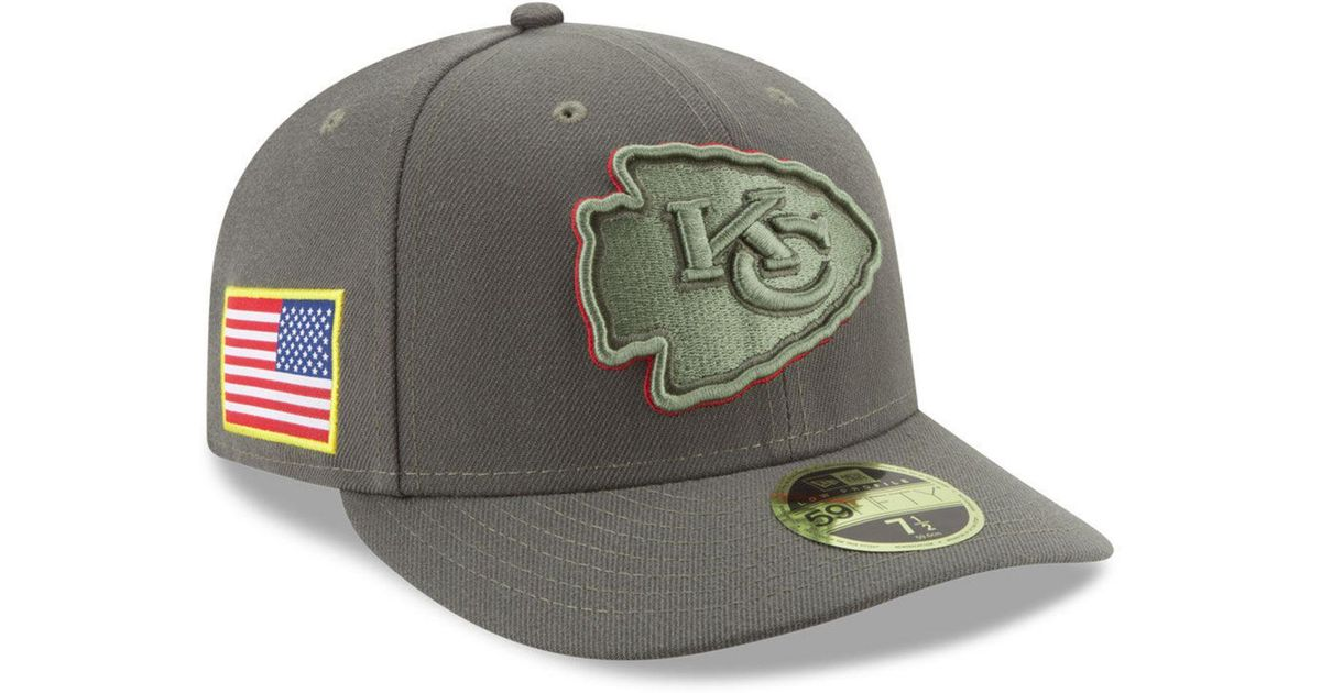 680a8b15290 Lyst - KTZ Salute To Service Low Profile 59fifty Fitted Cap in Green for Men