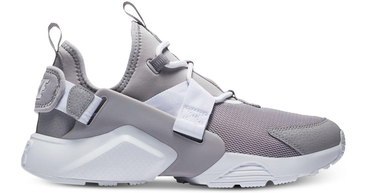 fe9a6809c48e7 Lyst - Nike Air Huarache City Low Casual Sneakers From Finish Line in Gray