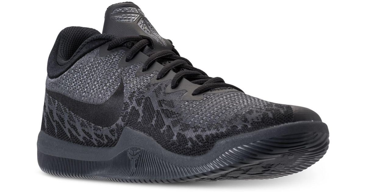 check out 76a13 c16b8 Lyst - Nike Men s Kobe Mamba Rage Basketball Sneakers From Finish Line in  Black for Men
