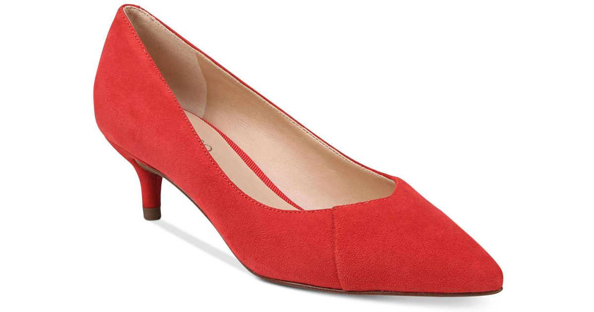 Franco Sarto Donnie Suede Pump - Wide Width Available