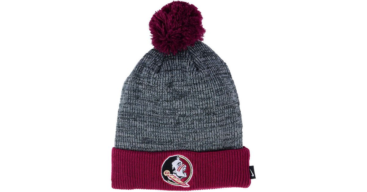 separation shoes 8eb2c 39b89 ... inexpensive lyst nike heather pom knit hat a4708 36e7b