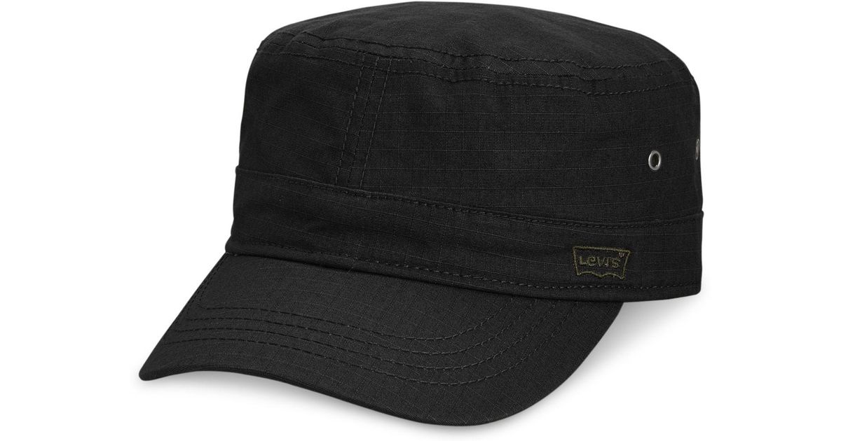 Lyst - Levi s Men s Ripstop Cadet Hat in Black for Men 22e59dd7f4e