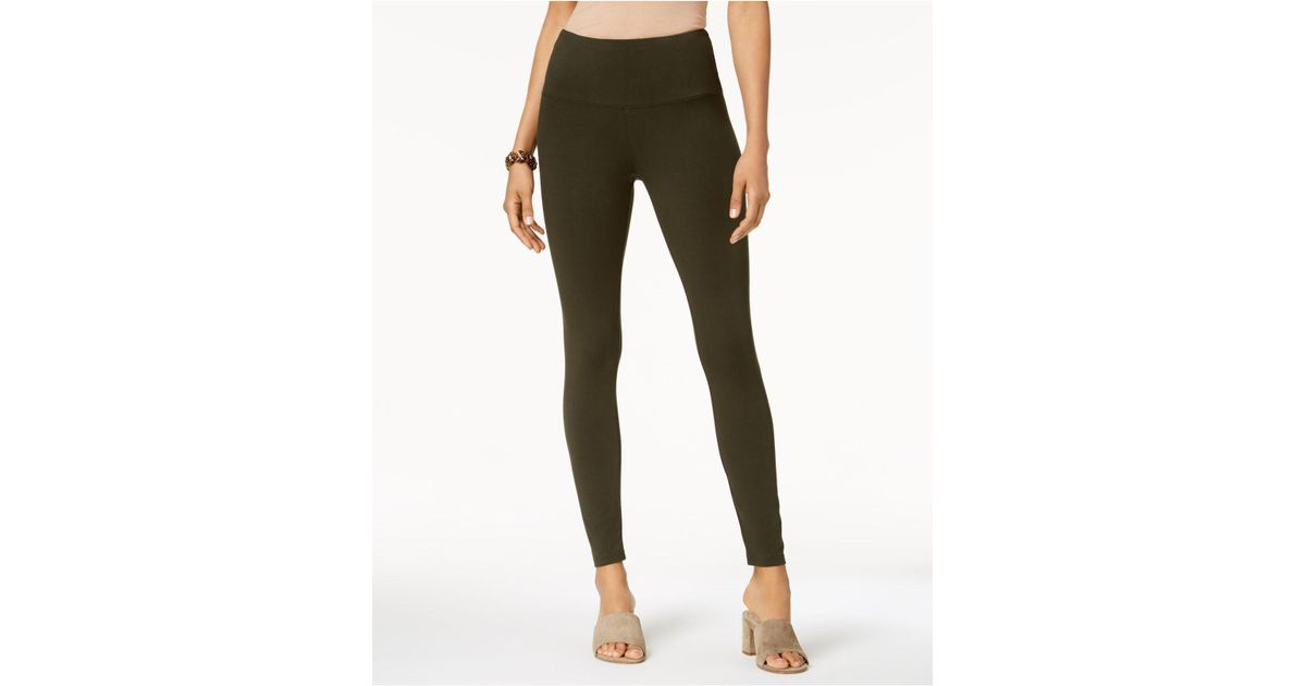 2b5bb33c4c Style & Co. Tummy-control Leggings, Created For Macy's in Green - Lyst