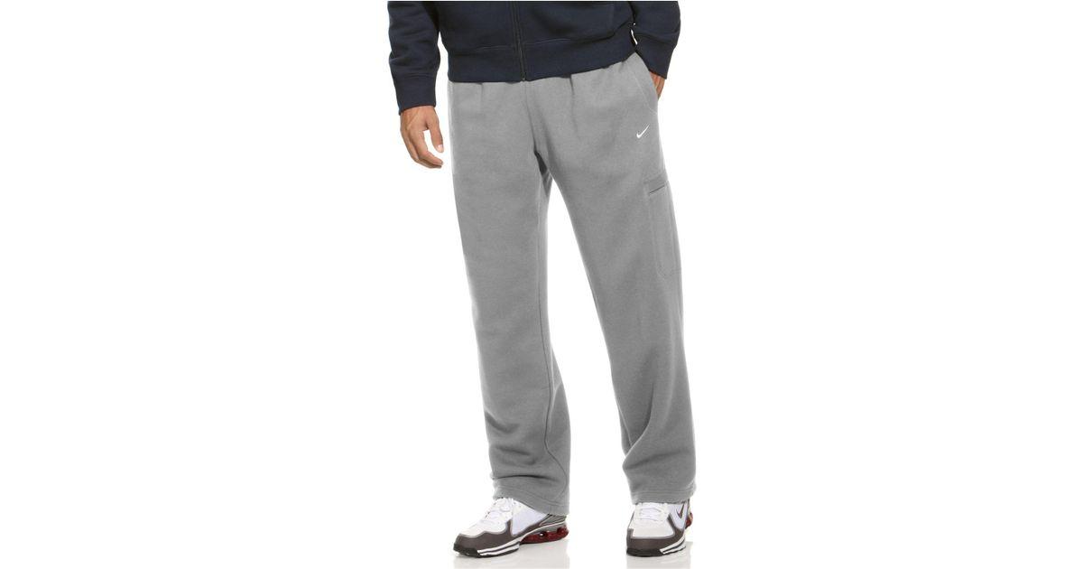 22b93cb27674 Lyst - Nike Classic Fleece Sweatpants in Gray for Men