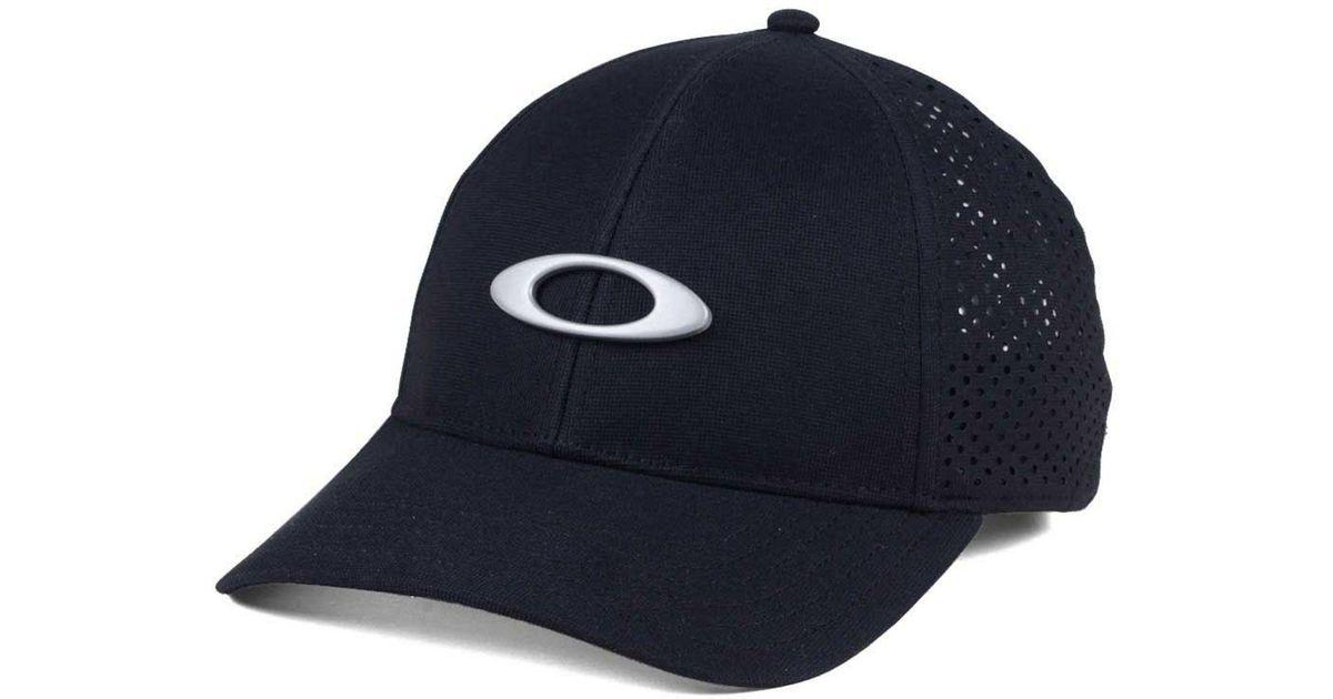 f2ba3e51351 Lyst - Oakley Laser Perf Tin Can Cap in Black for Men