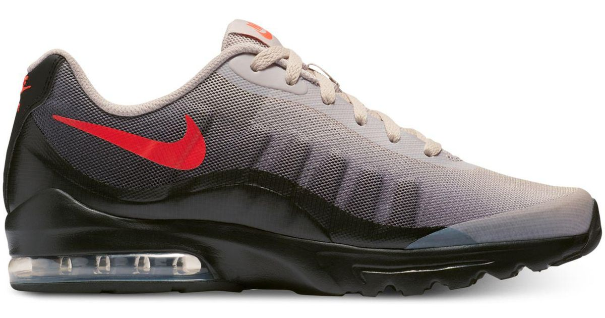 brand new 2dce8 6ef42 Nike Air Max Invigor Print Running Sneakers From Finish Line in Black for  Men - Lyst