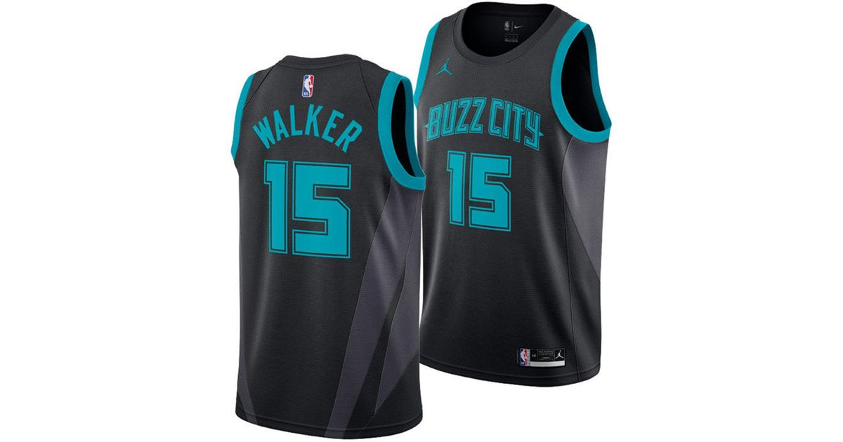 Lyst - Nike Kemba Walker Charlotte Hornets City Swingman Jersey 2018 in  Black for Men 9b2a150e2