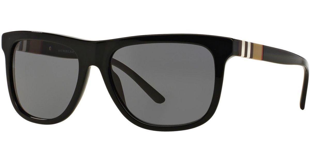 fe5ad25811f Lyst - Burberry Sunglasses