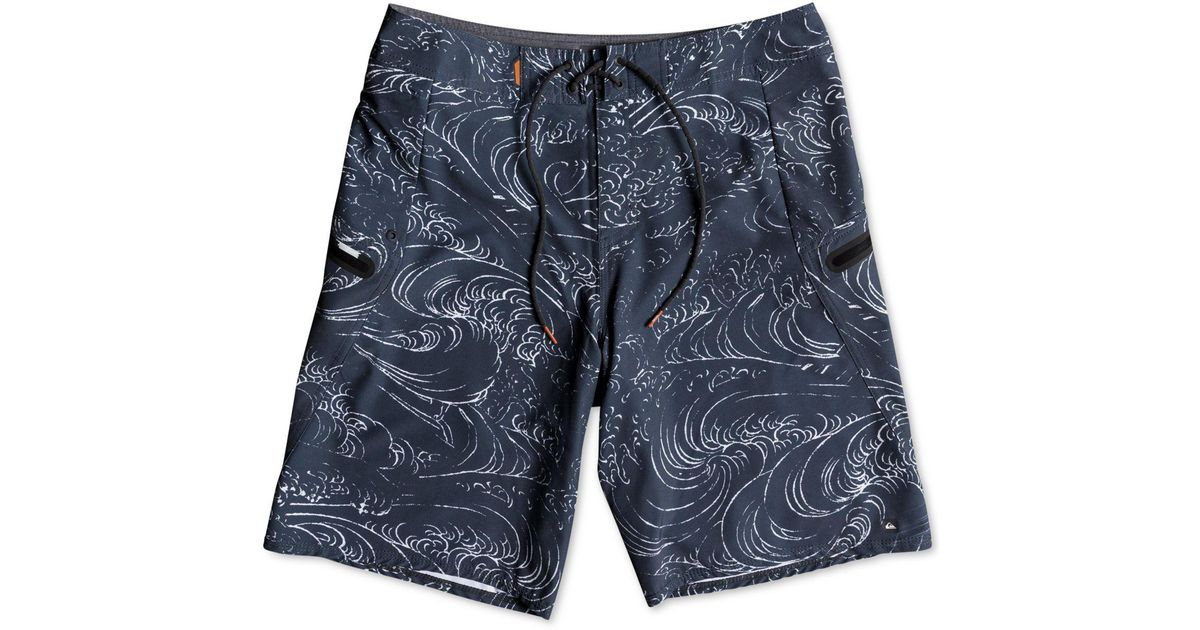 96f5a06b7a Quiksilver Waterman Paddler 10'' Board Shorts in Blue for Men - Lyst