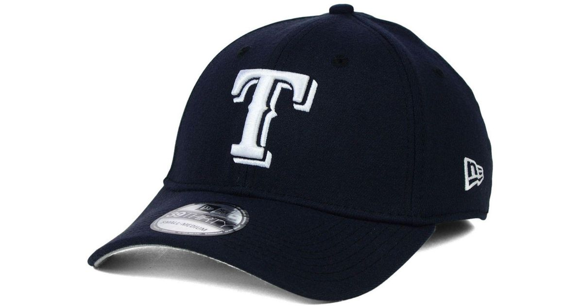 Lyst - Ktz Texas Rangers Fashion 39thirty Cap in Blue for Men f3b5f0bdd9d3