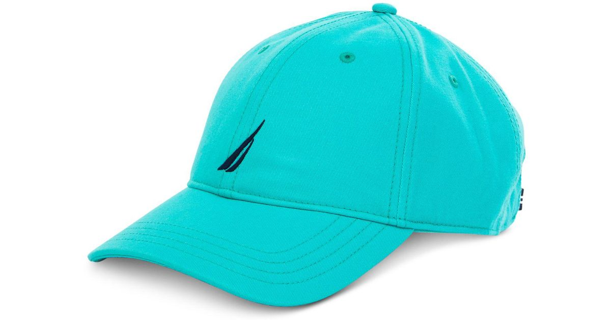 Lyst - Nautica J Class Embroidered Hat in Blue for Men 91caae4a8ae