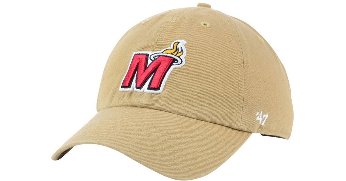 competitive price 87210 eaf74 47 Brand Miami Heat Mash Up Clean Up Cap for Men - Lyst