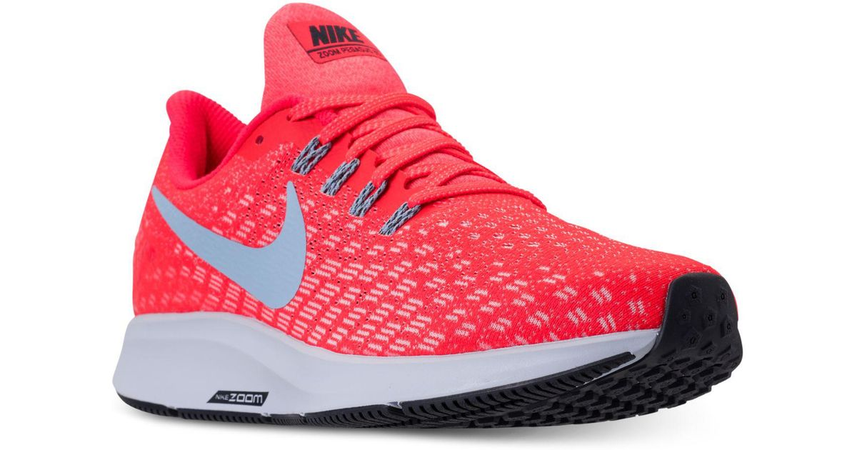 ddfe68c5f4ac0 Lyst - Nike Air Zoom Pegasus 35 Running Sneakers From Finish Line in Red  for Men