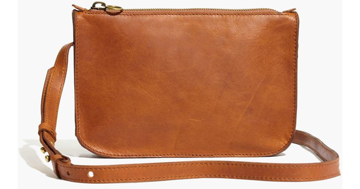 d8847def4c1f Lyst - Madewell The Simple Crossbody Bag in Brown