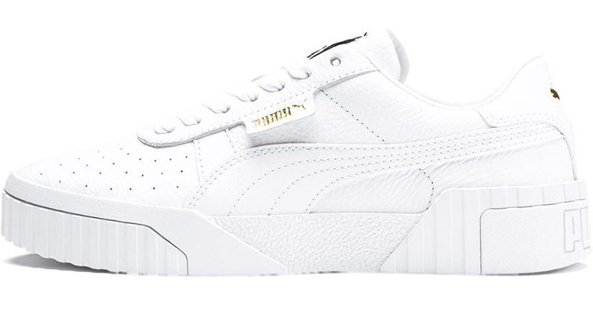 Lyst - PUMA White Cali Women s Sneakers in White 0ba54f04e