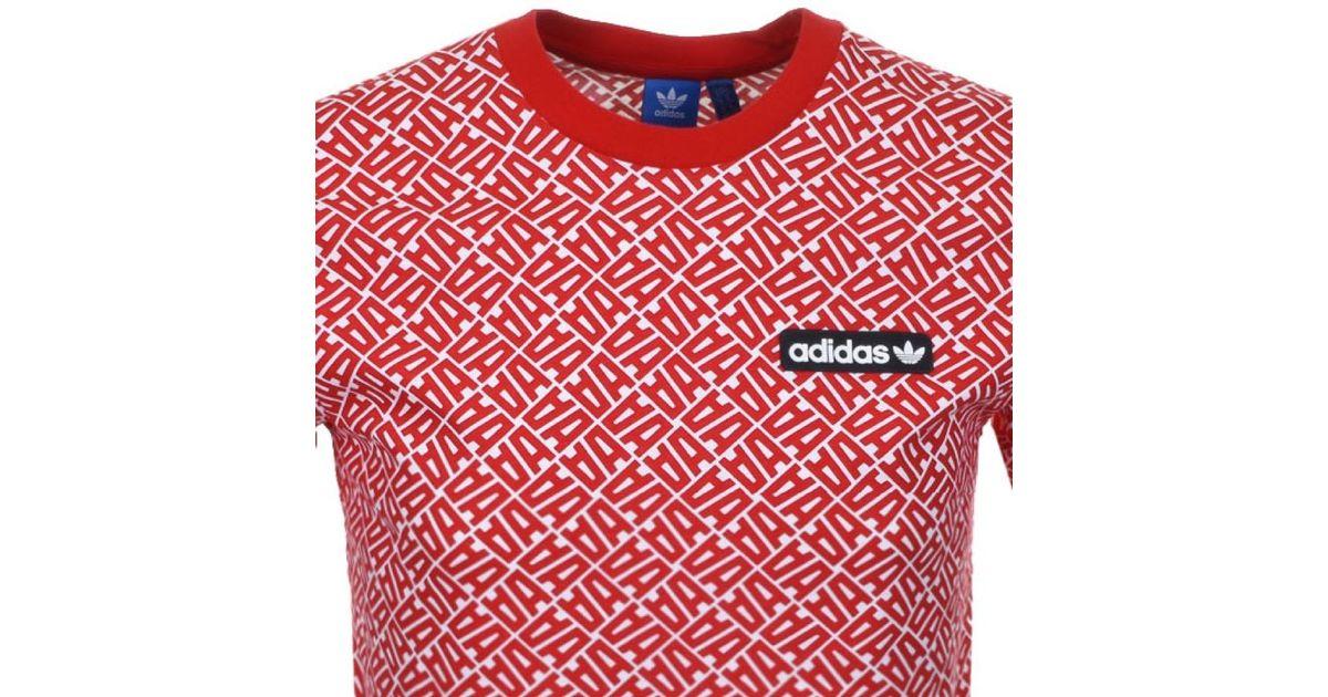 Adidas para Originals Anchikov camiseta roja en Anchikov roja rojo para hombre Lyst 1bbe5eb - accademiadellescienzedellumbria.xyz