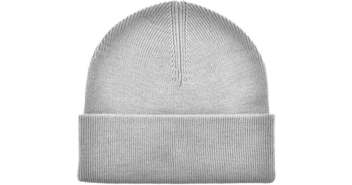 a710ba9c58e Lyst - Fred Perry Merino Wool Beanie Hat Grey in Gray for Men - Save  3.9215686274509807%