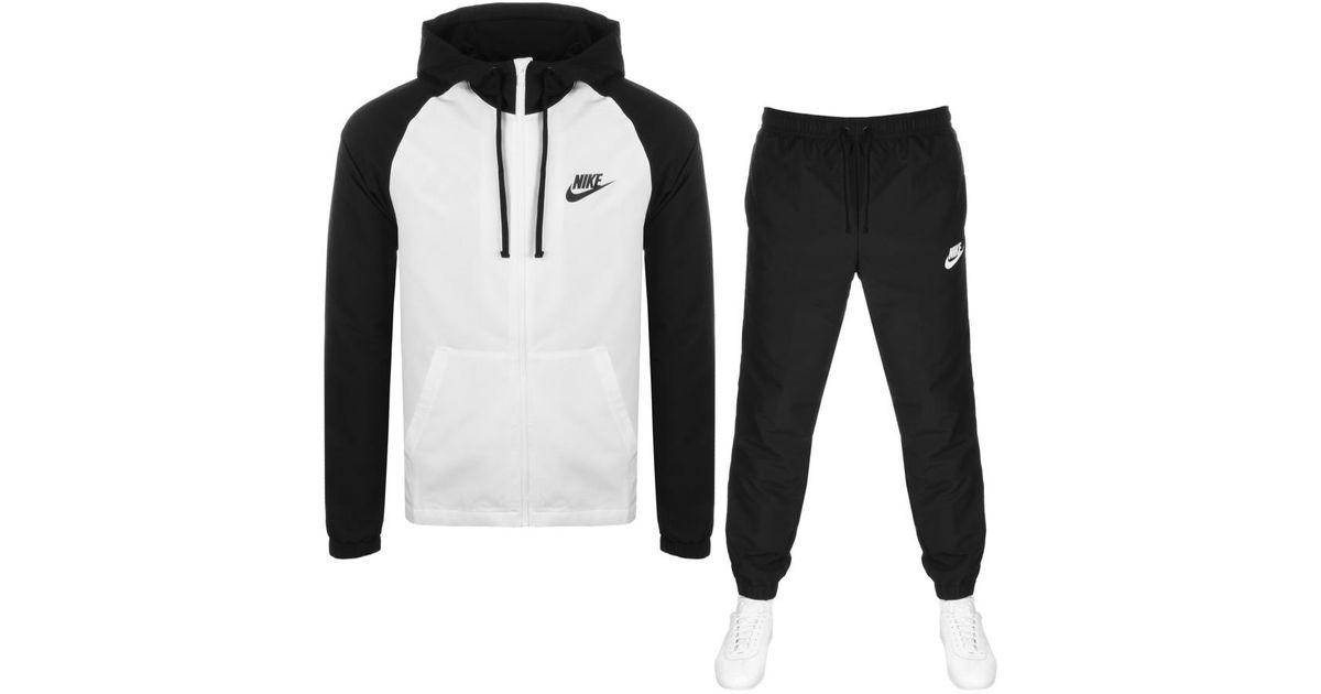 68bb54616698 Nike Tracksuit White in White for Men - Lyst