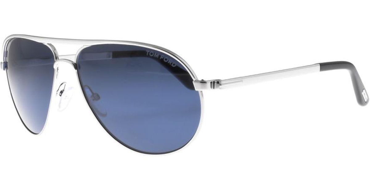789b2e45df7 Lyst - Tom Ford Marko Sunglasses Silver in Metallic for Men
