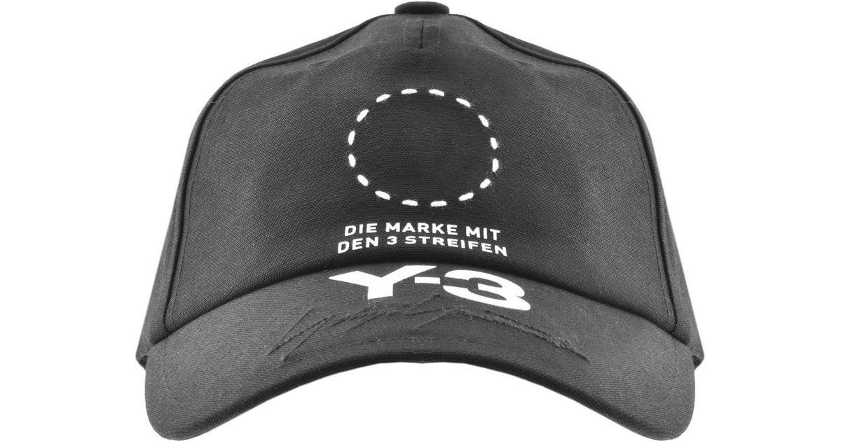 d0d6c5e6ea7 Y-3 Street Cap Black in Black for Men - Lyst