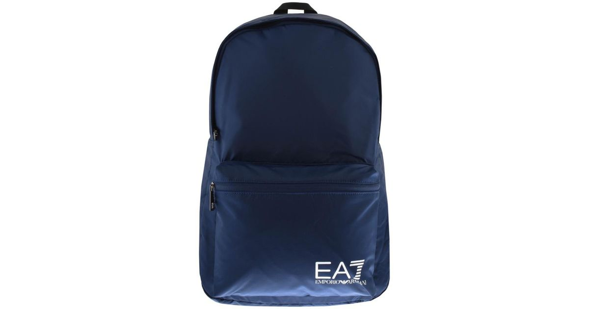 791f57fea8 EA7 Train Prime Backpack Blue in Blue for Men - Lyst