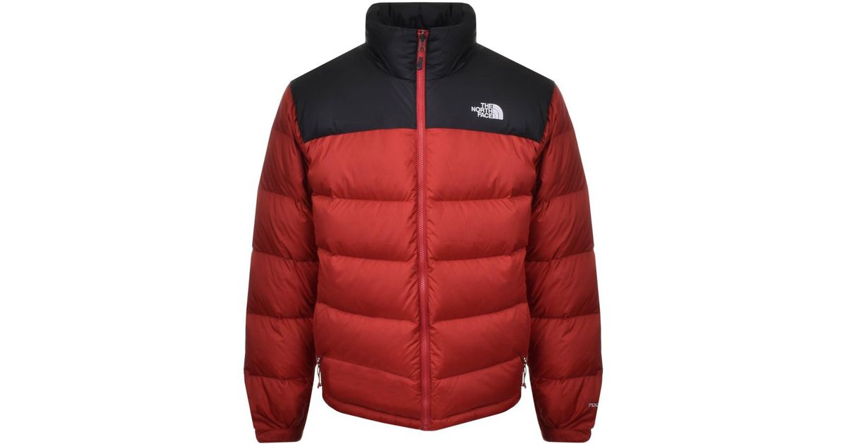 e1b8c5f428 The North Face Nuptse 2 Jacket Red in Red for Men - Lyst