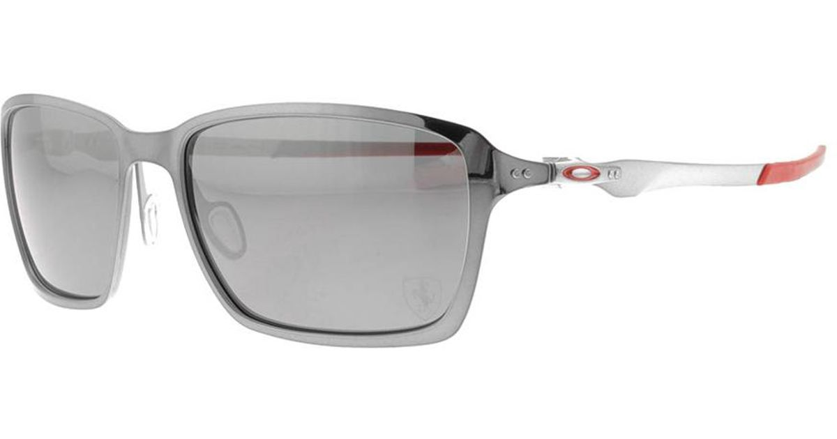 b70aeba16c Lyst - Oakley X Scuderia Ferrari Tincan Sunglasses Chrome in Black for Men