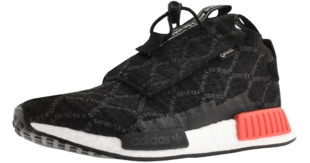99a3e2a6b4923b Lyst - adidas Nmd Ts1 Prime Knit Gtx Trainers Black in Black for Men
