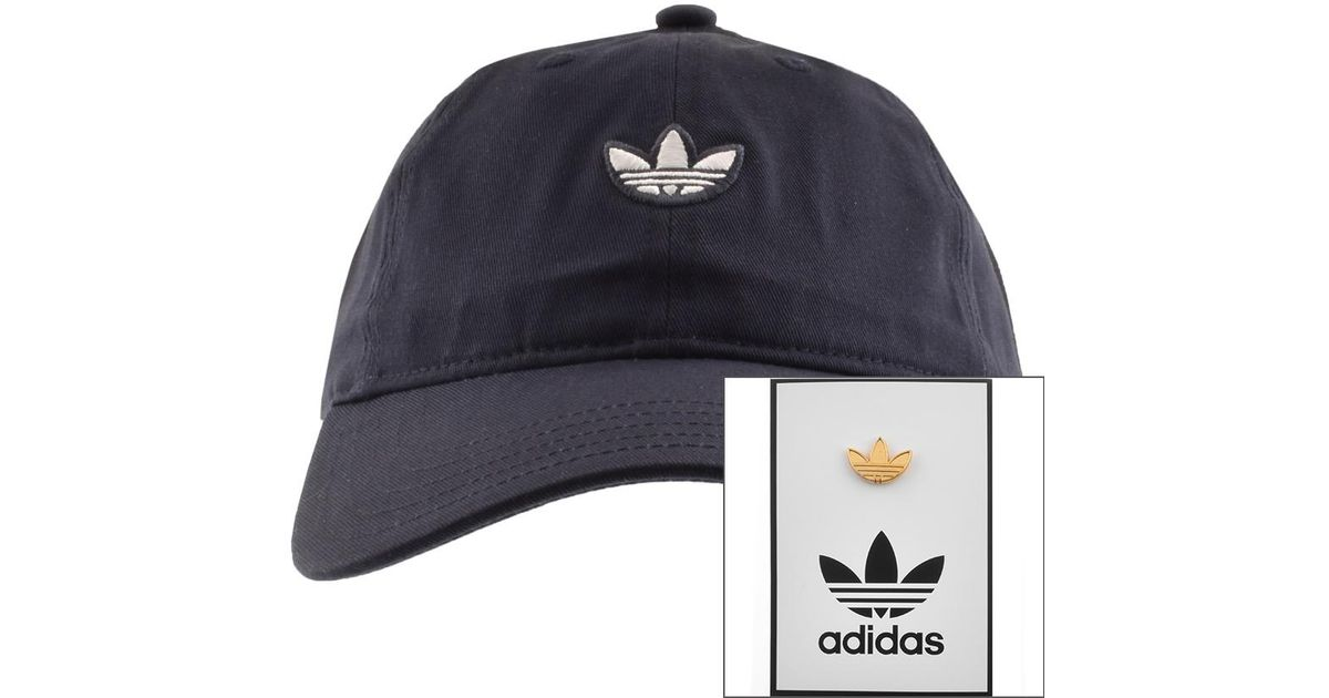15467499705 Lyst - adidas Originals Samstag Dad Cap Navy in Blue for Men