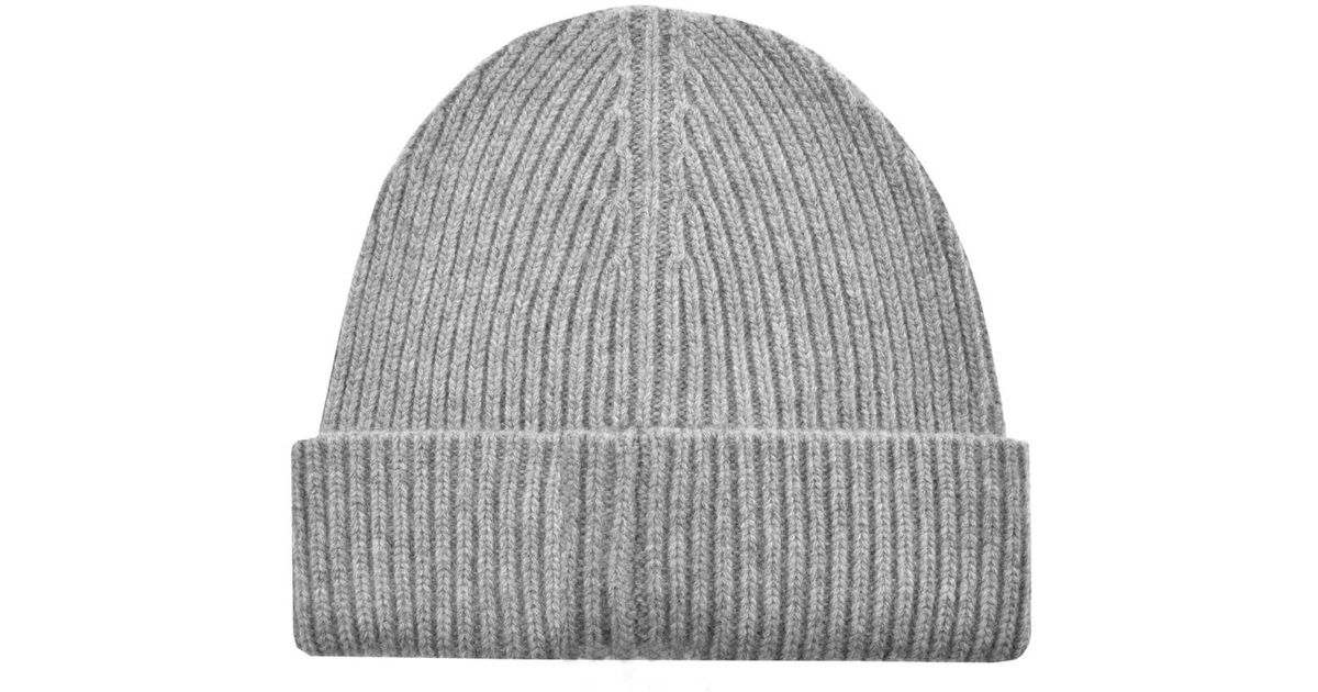 Belstaff Seabrook Wool Beanie in Gray for Men - Lyst f460bc98eae6