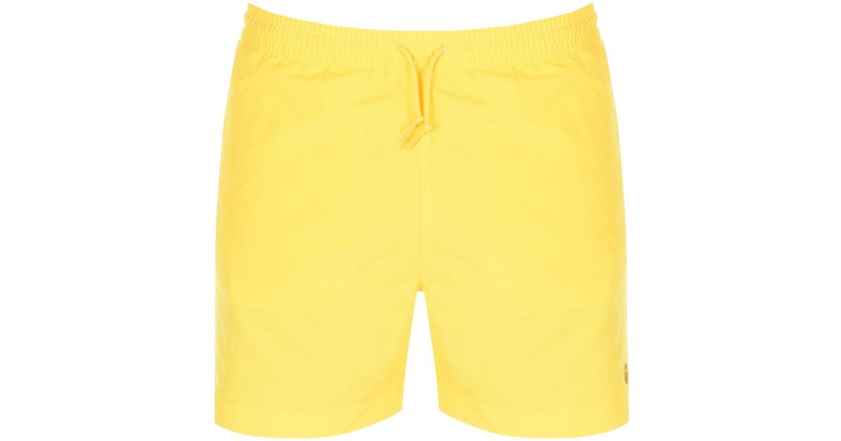 a6756eea2a Lyst - Carhartt Chase Swim Shorts Yellow in Yellow for Men