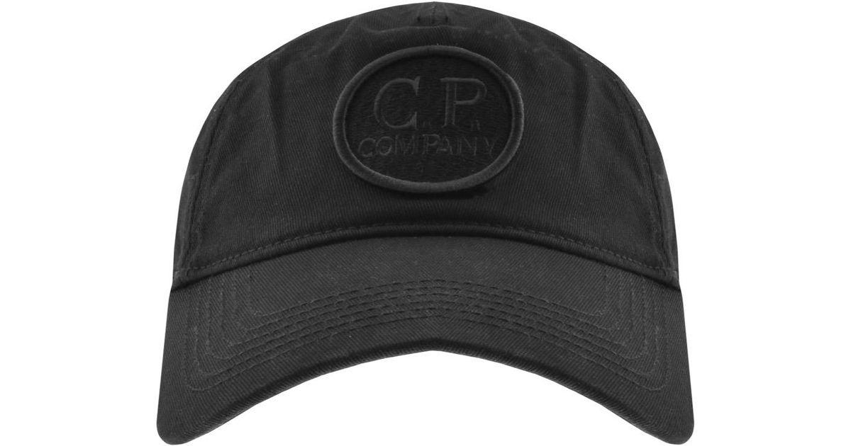 25556daf1fb Lyst - C P Company Cp Company Goggle Cap Black in Black for Men