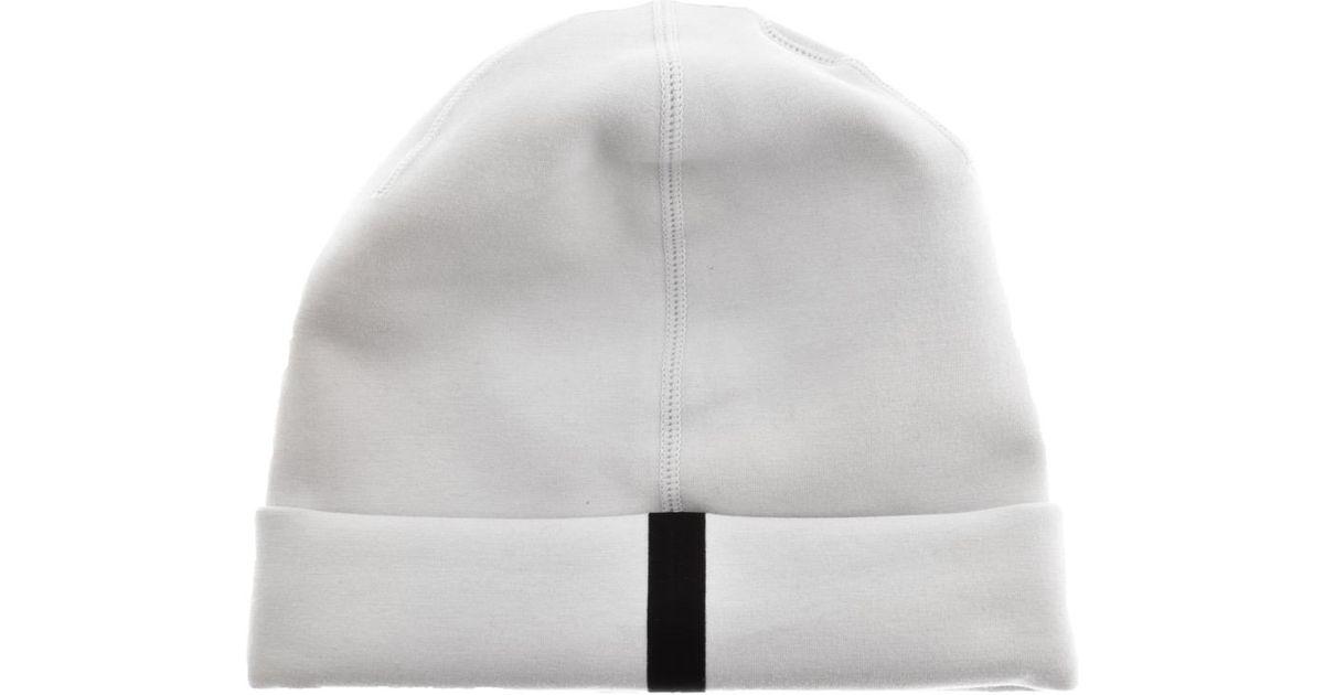 98663dd99b94c ... where to buy lyst nike logo tech beanie hat grey in gray for men ebbba  068e9