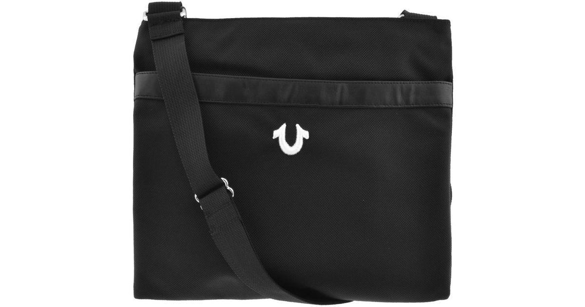 0dfb93f7ff True Religion Chase Cross Body Bag Black in Black for Men - Lyst