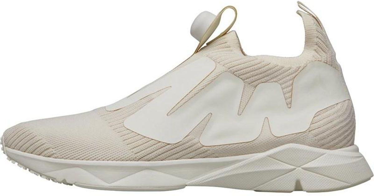 951d7395f08 Reebok Pump Supreme Style Trainers Premium  Classic White snowy Grey in Gray  for Men - Lyst