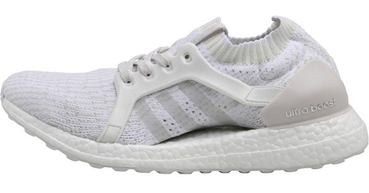info for fce60 0a09a adidas Ultraboost X Neutral Running Shoes Cloud White pearl Grey crystal  White in White - Lyst