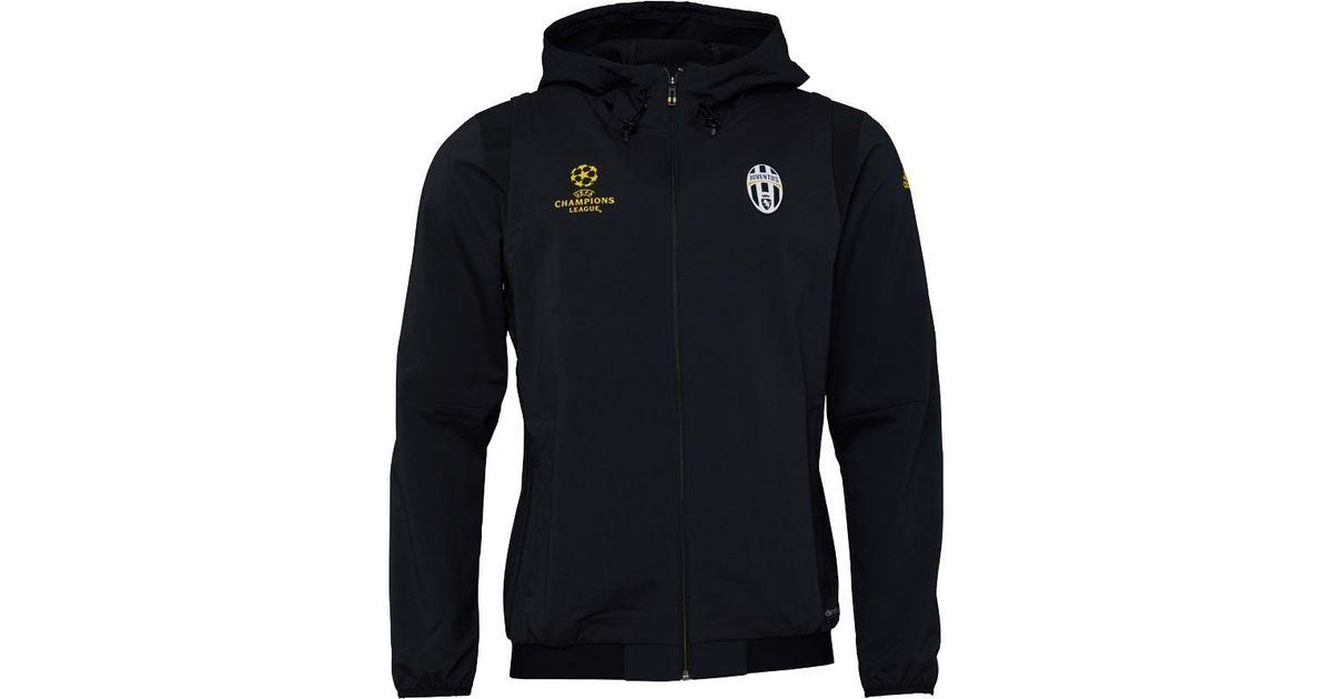 9cf8b5d35158 adidas Juventus Ucl Presentation Jacket Black in Black for Men - Lyst