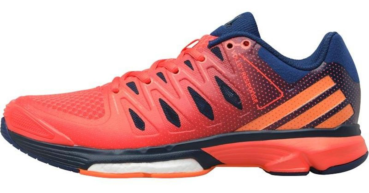 adidas Boost Volley Response 2.0 Volleyball Shoes Mystery Blue glow  Orange easy Coral in Blue - Lyst a901c2c269ea5