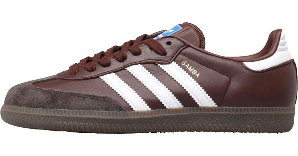 f98681f87920f adidas Originals Samba Og Trainers Mystery Brown/core Black/night Brown in  Brown for Men - Lyst