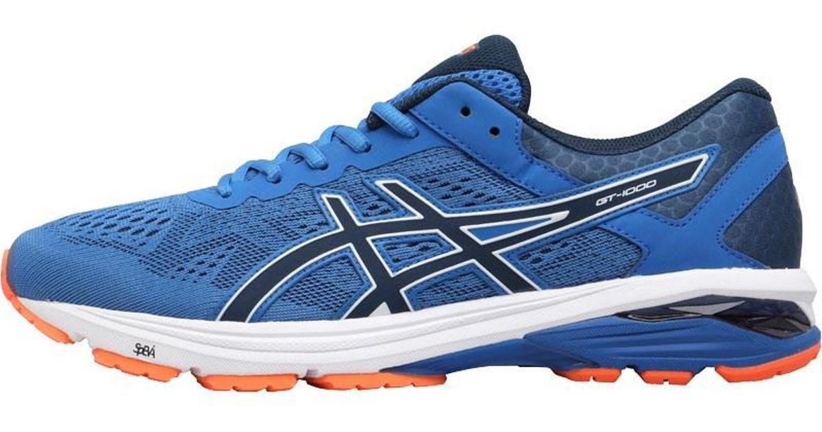 ASICSGT-1000 6 - Stabilty running shoes - victoria blue/dark blue/shocki 7FRMbz