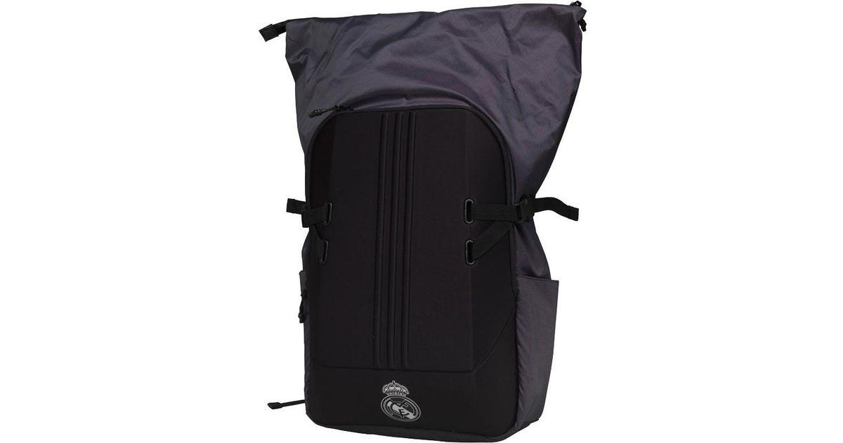 3c8817fe4d78 adidas Rmcf Real Madrid Z.n.e Backpack Black in Black for Men - Lyst