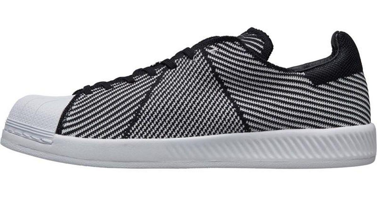 b508e5e135810 adidas Originals Superstar Bounce Primeknit Trainers Core Black footwear  White footwear White in Black for Men - Lyst