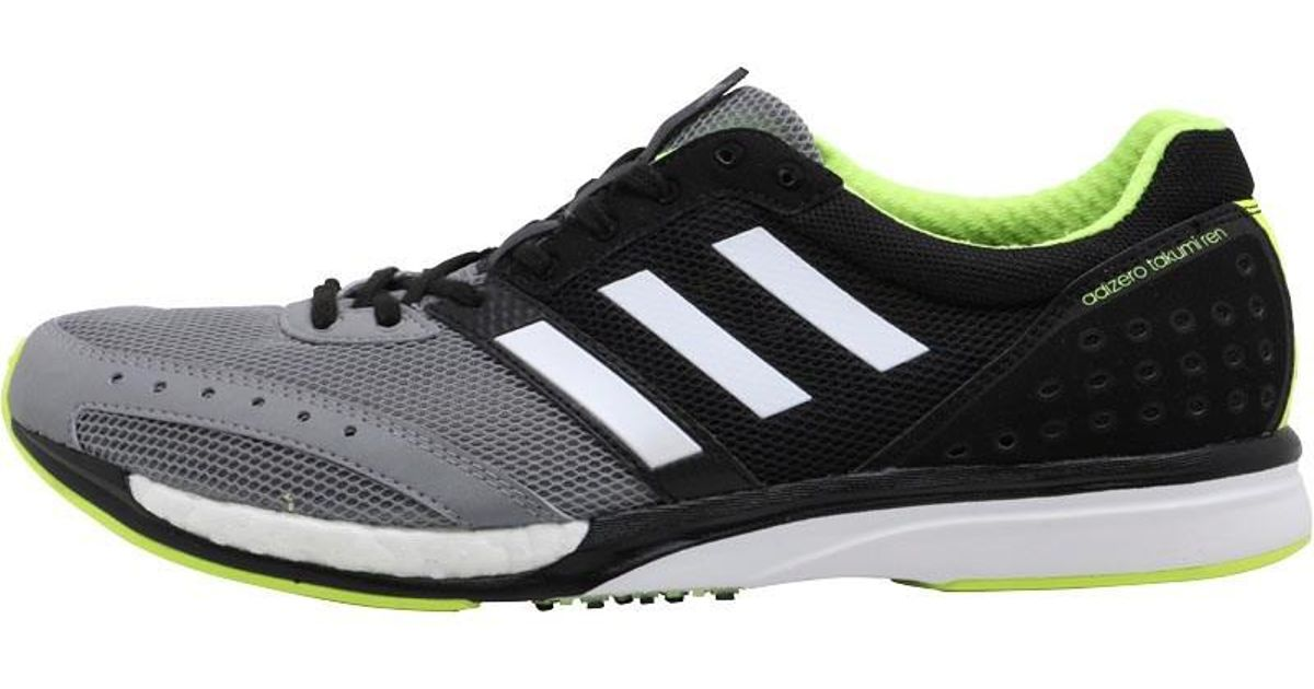 half off 6f32c f2653 adidas Adizero Takumi Ren 3 Neutral Running Shoes Core Blackgrey Onegrey  Three in Black for Men - Lyst